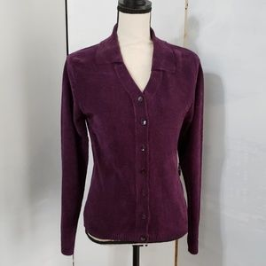 Tweeds Nwot* ladies collared cardigan